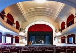 Widownia teatru w Jeleniej Górze