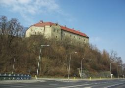 Sanocki zamek na wzgórzu