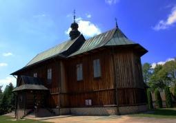Drewniany kościół pw. św. Bartłomieja Apostoła - Stradów