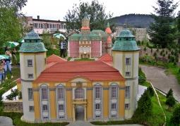 Miniatura zamku Książ