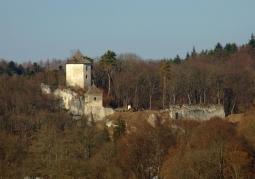 Ruiny Zamku Kazimierzowskiego - Ojców