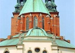Katedra Gnieźnieńska od strony ul. Tumskiej