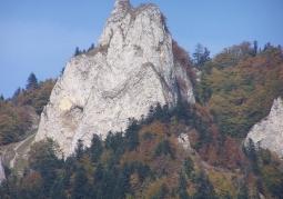 Szczyt Okrąglicy z platformą widokową