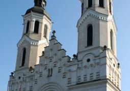 Fasada kościoła Najświętszego Serca Pana Jezusa