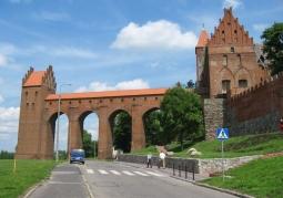 Gdanisko zamku i skrzydło zachodnie