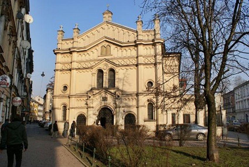 Budynek synagogi Tempel w krakowie
