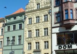 Barokowa fasada kamienicy
