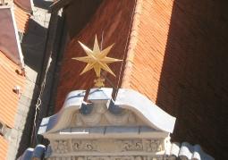Gwiazda widziana z wieży Ratusza