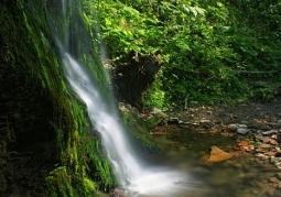 Wodospad Ostrowskich w Starym Siole - Wetlina