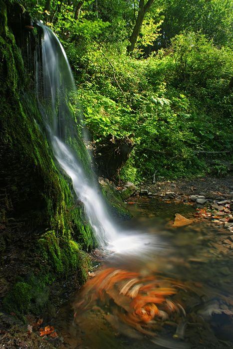 Wodospad w Wetlinie