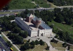 Zamek Lubelski z lotu ptaka