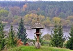 Widok na Narew ze Skansenu Kurpiowskiego