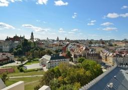Stare miasto z tarasu widokowego