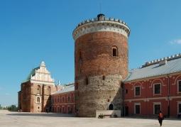 Wieża zamkowa - Zamek Lubelski