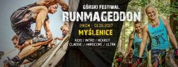 Górski Festiwal Runmageddon Myślenice - Majówka 2017