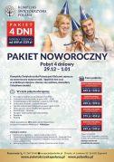 PAKIET NOWOROCZNY Pobyt 4 - dniowy 29.12.2017 - 01.01.2018