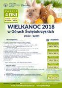 WIELKANOC 2018 w Górach Świętokrzyskich 30.03-02.04.2018