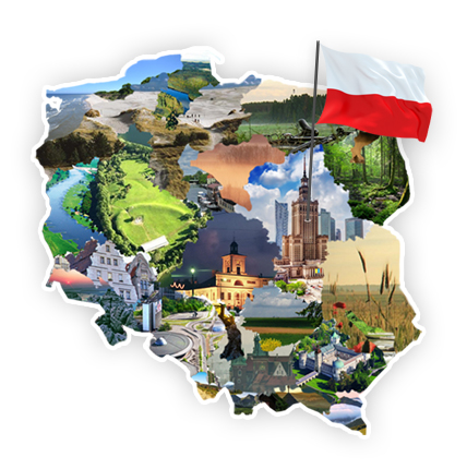 Znalezione obrazy dla zapytania: turystyka polska